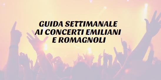 Tutti i concerti dell'Emilia Romagna