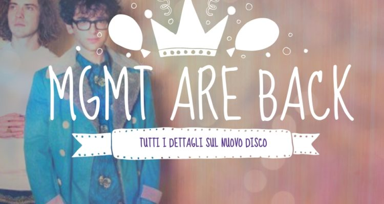 Nuovo disco MGMT