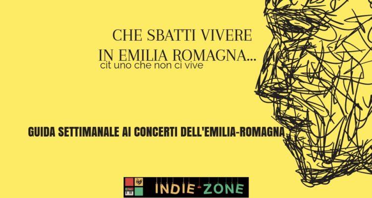 Guida Settimanale ai Concerti dell'Emilia Romagna