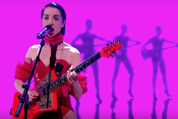 st vincent graham norton show